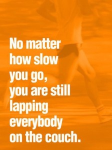 slow running quote