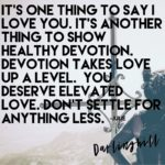 Love and Devotion Quote