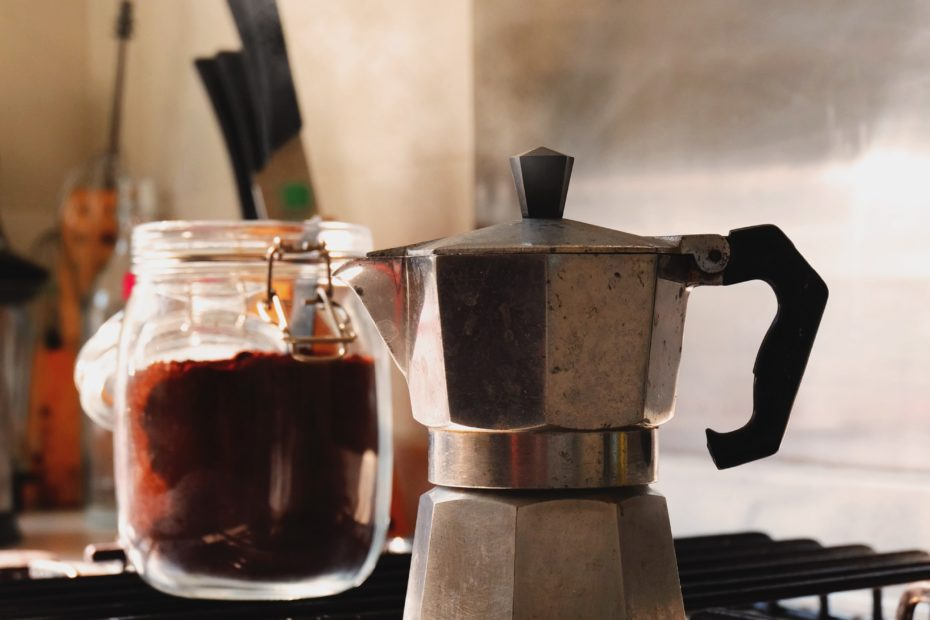 moka pot coffee vegan pegan lifestyle